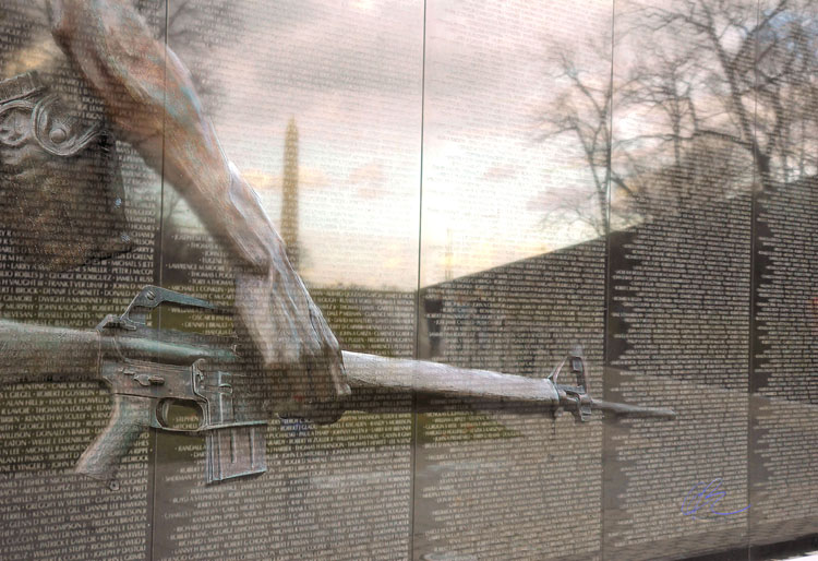 Vietnam Wall : LITTLE KNOWN INFO — VIETNAM WALL  INI World Report